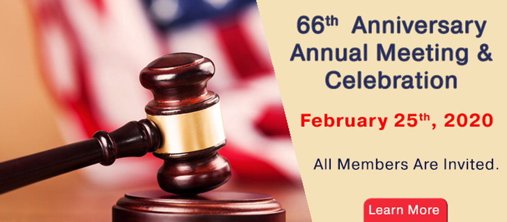 65th  Anniversary Annual Meeting & Celebration January 29th